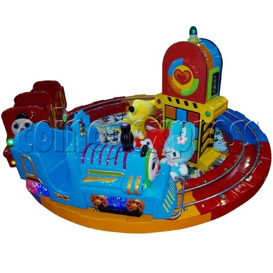 Train Race kiddie ride (3 players) 28980