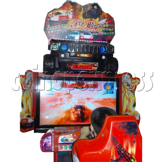 Crashing Car Racing machine 29072