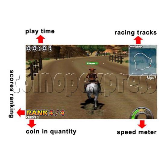 Go Go Jockey horse riding game 29138