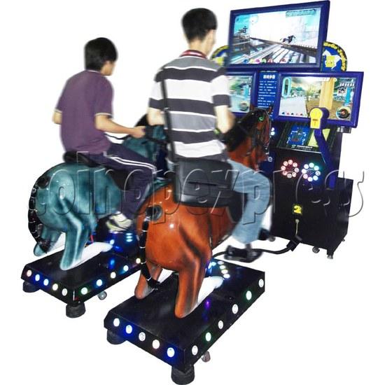 Go Go Jockey horse riding game (Twin) 29152