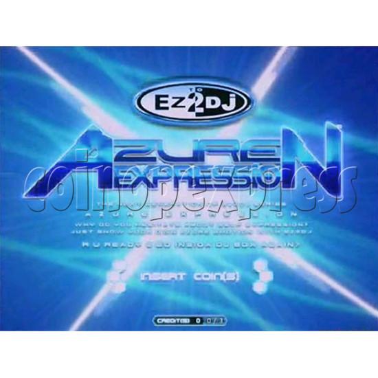 EZ 2 DJ Azure Expression machine 29232