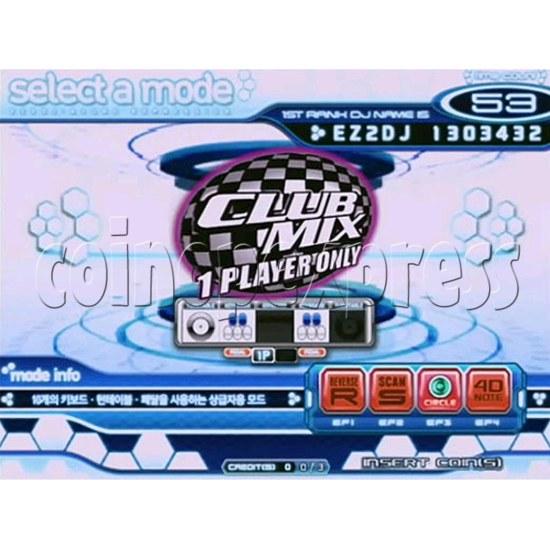 EZ 2 DJ Azure Expression machine 29234