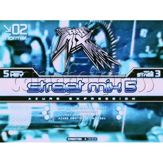 EZ 2 DJ Azure Expression machine 29235