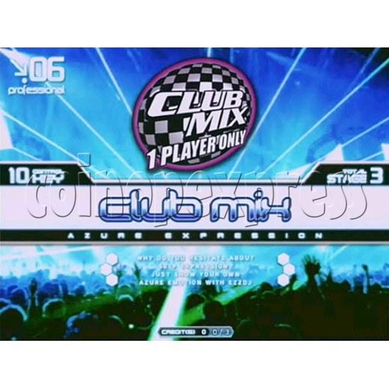 EZ 2 DJ Azure Expression machine 29236