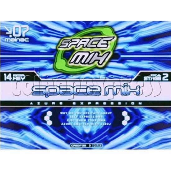 EZ 2 DJ Azure Expression machine 29237