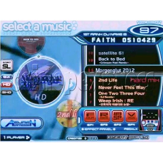 EZ 2 DJ Azure Expression machine 29239