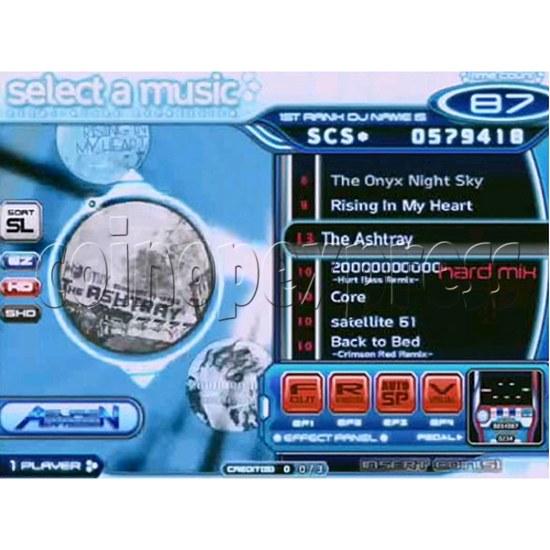 EZ 2 DJ Azure Expression machine 29240