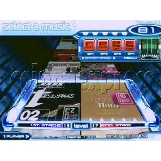 EZ 2 DJ Azure Expression machine 29241