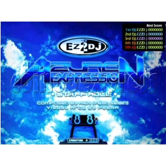 EZ 2 DJ Azure Expression machine 29246
