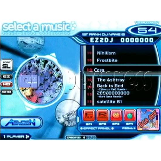 EZ 2 DJ Azure Expression machine 29247