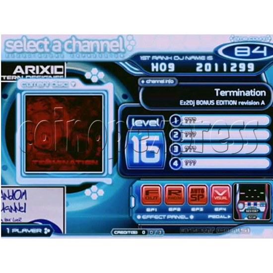 EZ 2 DJ Azure Expression machine 29248
