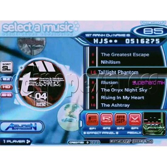 EZ 2 DJ Azure Expression machine 29249