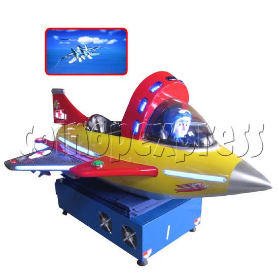 Video Kiddie Ride: Kiddie Jet 29357