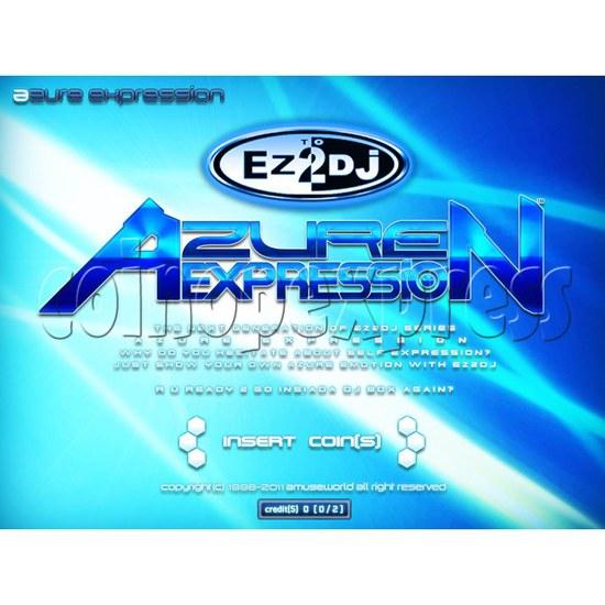 EZ 2 DJ Azure Expression machine 29610