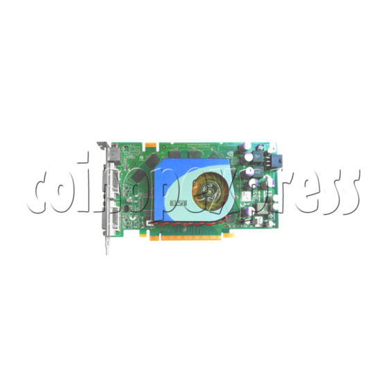 Graphics Card for SSTF IV (Taito Type X II) Machines 29658