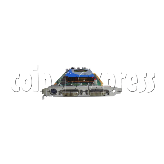 Graphics Card for SSTF IV (Taito Type X II) Machines 29661