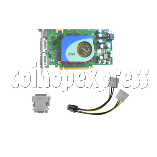 Graphics Card for SSTF IV (Taito Type X II) Machines 29663