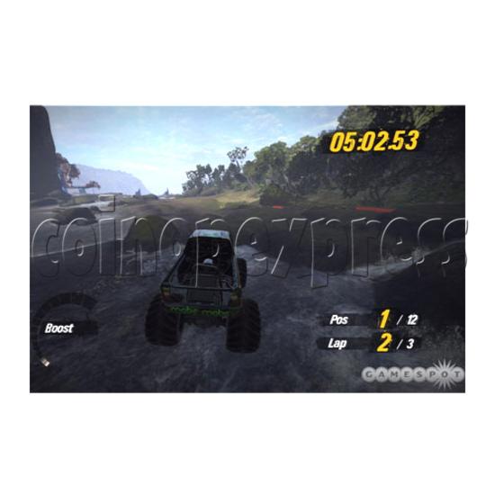 Motor Storm Driving-Riding Machine 29667