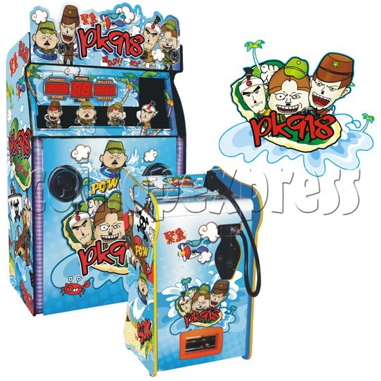 Forest Ghost Shooting Machine DX ( 3 in 1) 29781