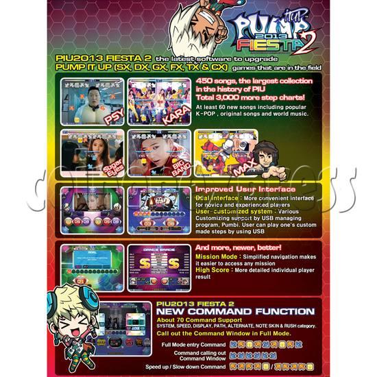 Pump It Up Fiesta 2 2013 Arcade Edition Software Upgrade Kit 29840