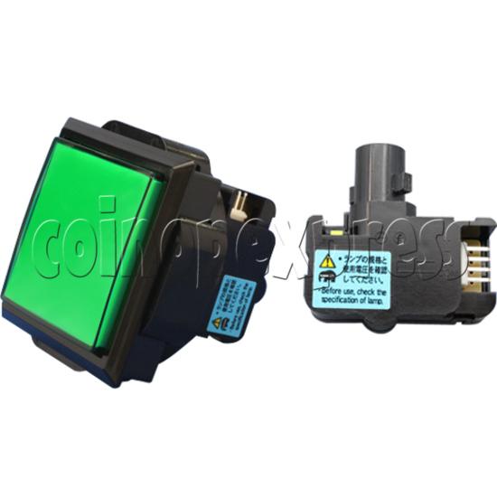 Sanwa Push Button (OBSA-60UK-W-N) 30382