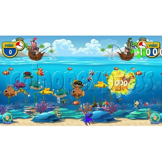 Pirate's Hook Video Fish Machine 30485