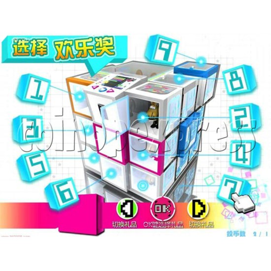 Cubes Club Prize Machine 30502