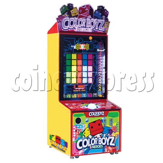 Color Boyz Thrilling Ball Redemption Machine 30525