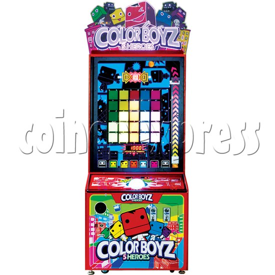 Color Boyz Thrilling Ball Redemption Machine 30526