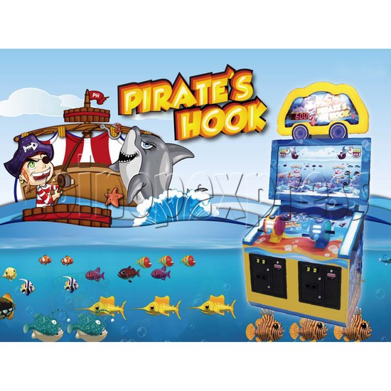 Pirate's Hook Video Fish Machine 30587