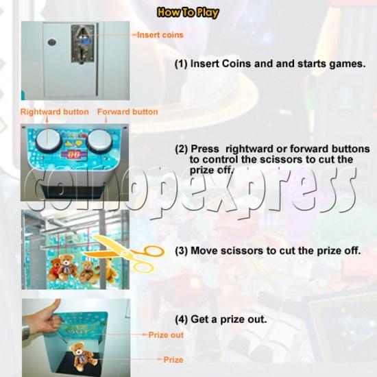 Cut prize machine 30588