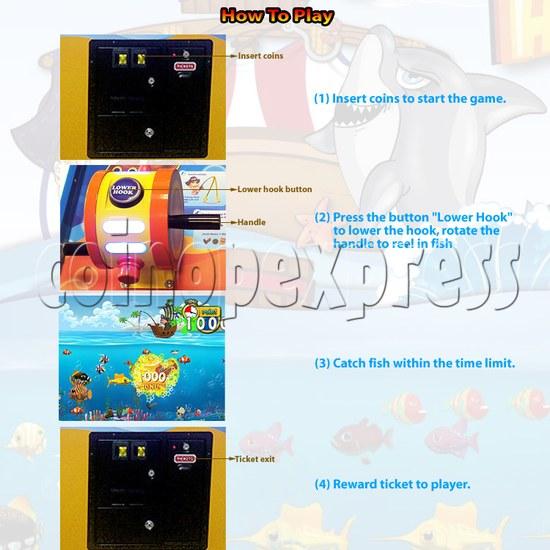 Pirate's Hook Video Fish Machine 30589