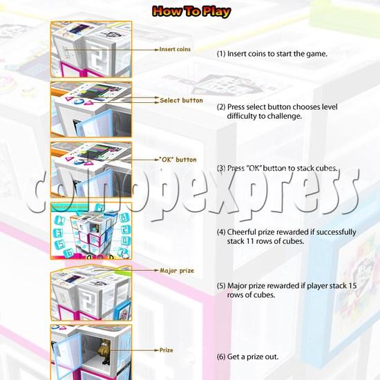 Cubes Club Prize Machine 30596