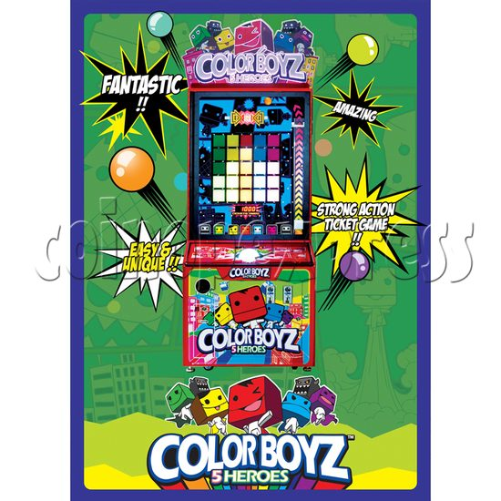 Color Boyz Thrilling Ball Redemption Machine 30641