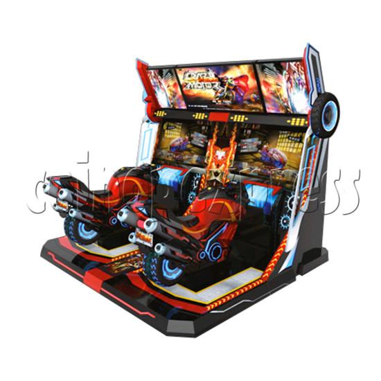 Crazy Motor Racing Game Machine 30669