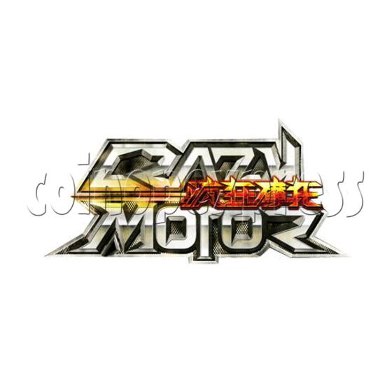 Crazy Motor Racing Game Machine 30671