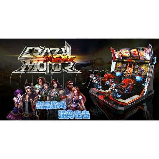 Crazy Motor Racing Game Machine 30672