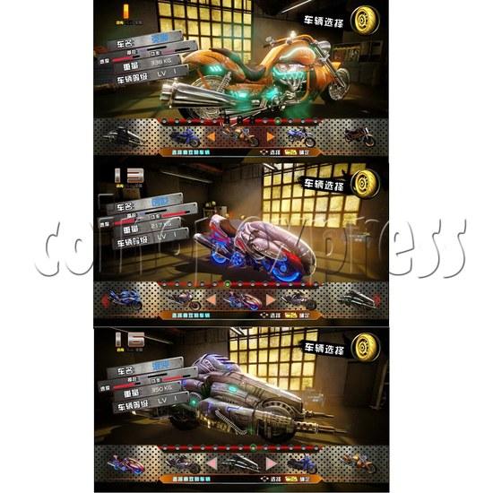 Crazy Motor Racing Game Machine 30673