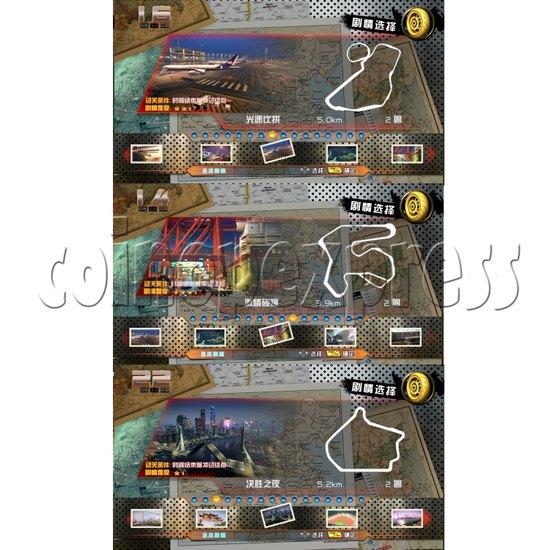 Crazy Motor Racing Game Machine 30680