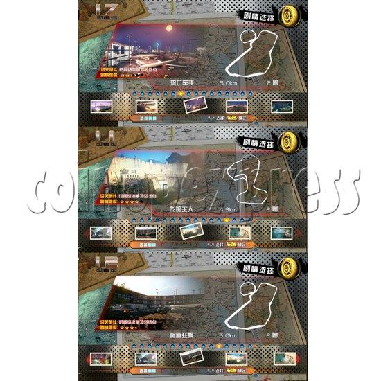 Crazy Motor Racing Game Machine 30681
