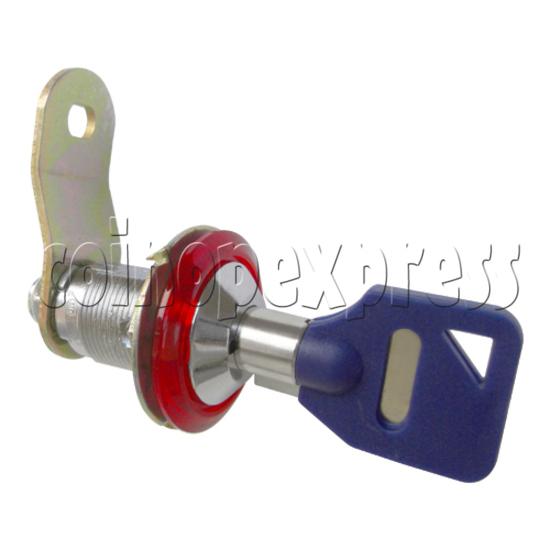 Circle Type Metal Door Lock With Key (28mm) 30763