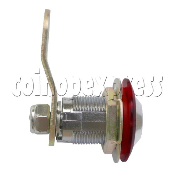 Circle Type Metal Door Lock With Key (28mm) 30767