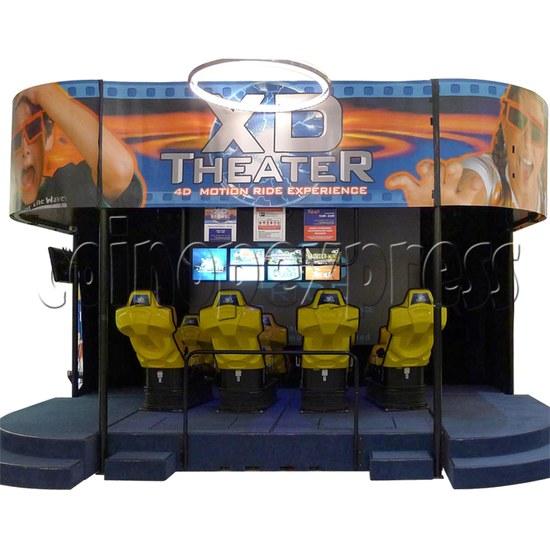XD Theater Virtual Reality Cinema 30828