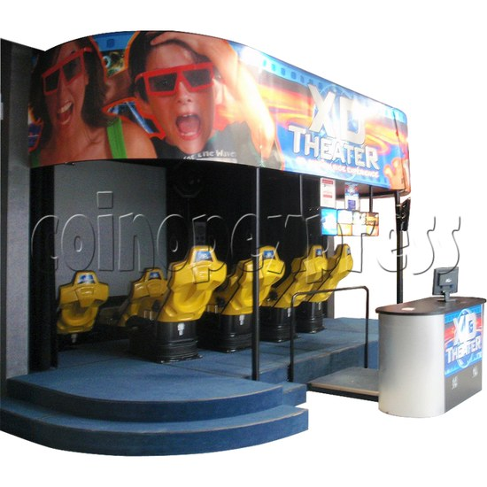 XD Theater Virtual Reality Cinema 30829