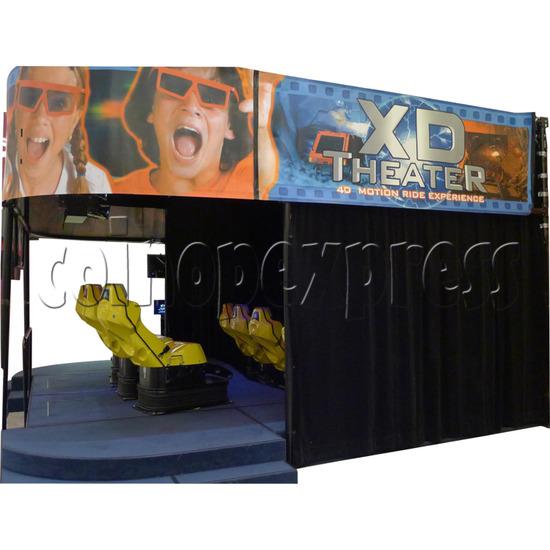XD Theater Virtual Reality Cinema 30830
