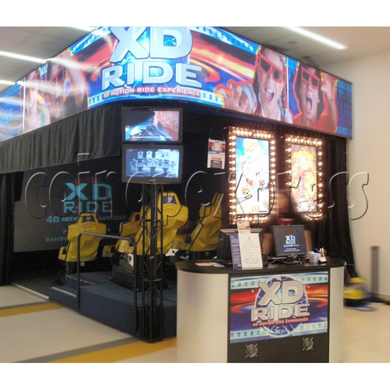 XD Theater Virtual Reality Cinema 30833