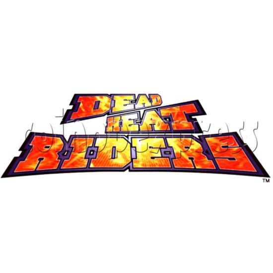 Dead Heat Rider - Twin Motorcycle Racing Video Arcade Game 30885