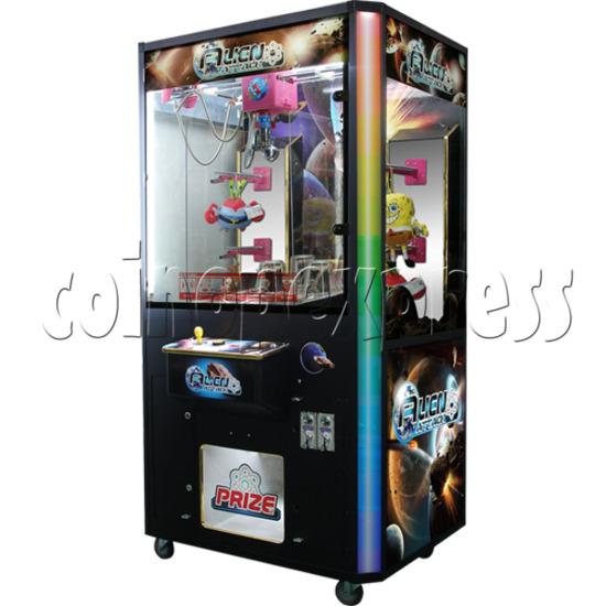 Alien Attack Grab Ball Prize Machine 30952