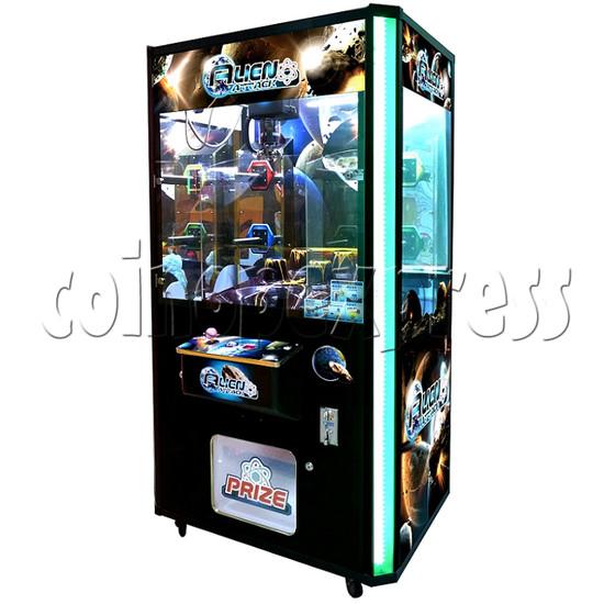 Alien Attack Grab Ball Prize Machine 30953