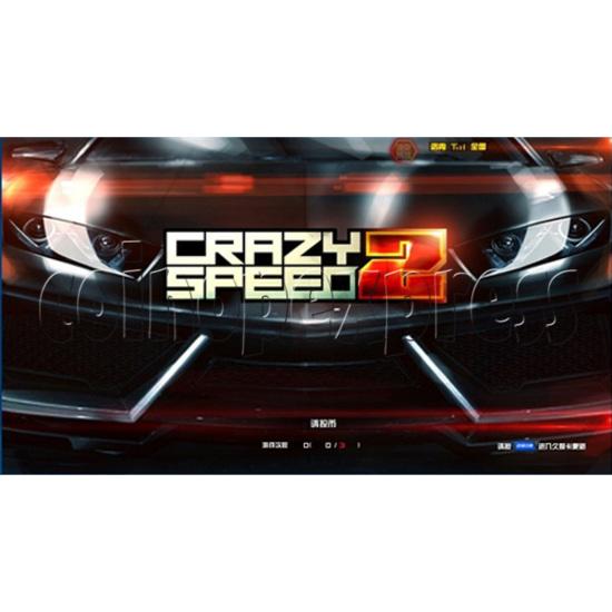 Crazy Speed 2 Arcade Machine 31000